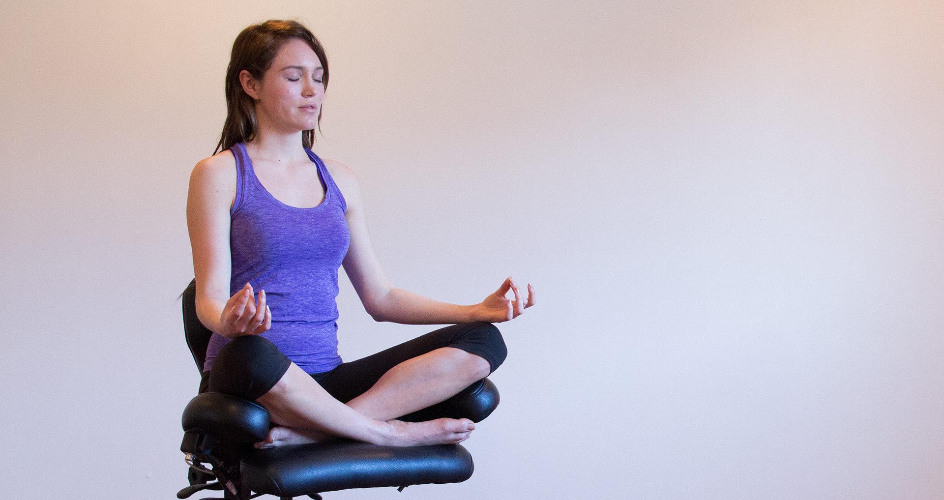 Ergonomic Desk Chairs Improve Posture Sukhasana